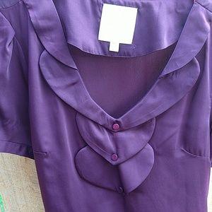 Purple Modcloth blouse